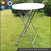 small round leisure balcony garden table with Height 110CM