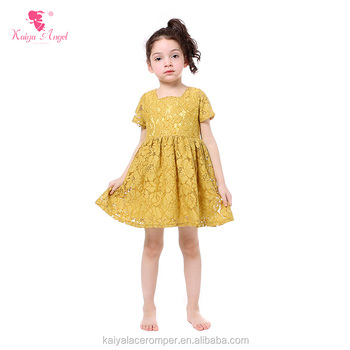 Children s boutique dress short sleeve kids fancy lace dress Children  Frocks Designs 2401779d9