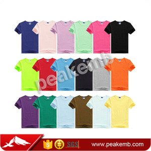 Black Wholesale Custom Sport 100% Cotton Printing T-shirt With Low Price
