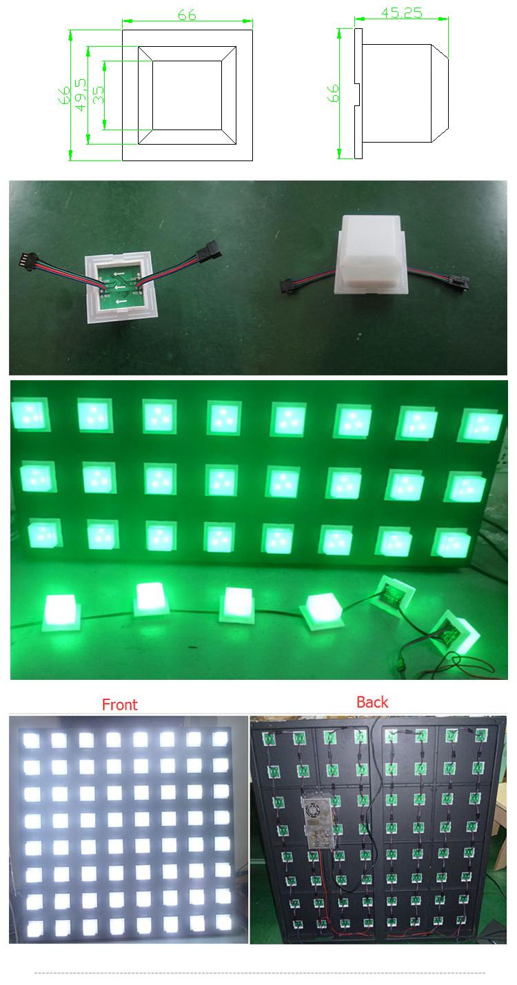 Vendeurs chauds LED pixel lumière LED lumière de module