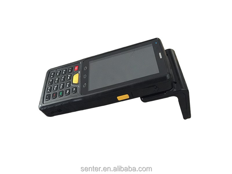 Reduction in price personal digital assistant / 4'' Android 4.4 OS multifunction industrial PDA with barcode scanner