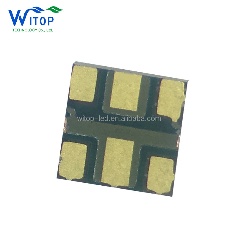 6 pins led smd 20*20mm model APA102 2020 chip