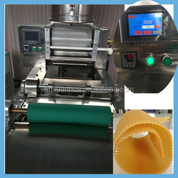 Half-automatic Beeswax Foundation Sheet Machine/Full Automatic Beeswax Foundation Machine/Beeswax Foundation Manual Coining Mill