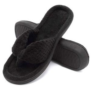 9fbc3add4 Plush Flip Flop Slipper Wholesale