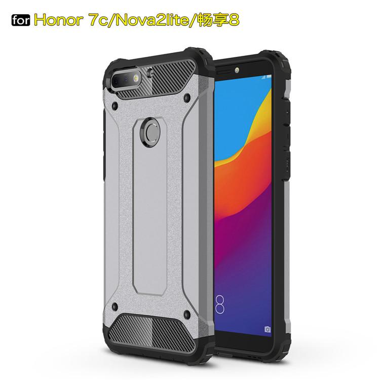 Alibaba.com / Armor hard Cover For Huawei Honor 7C Enjoy 8 Nova 2 Lite Y7 Prime 2018 Case
