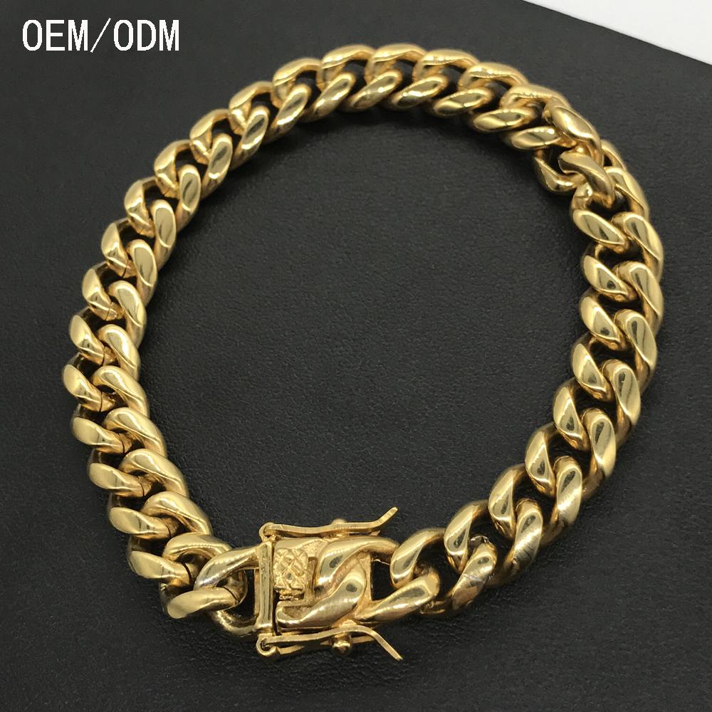 Hign Quality 18k Solid Gold Bracelet