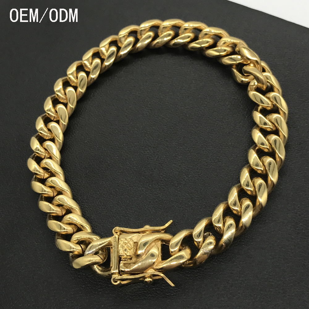 ccd932a6764f2 Hign Quality 18k Solid Gold Bracelet For Men Designs - Buy 18k Solid Gold  Bracelet,Gold Jewelry Bracelets,Gold Bracelets For Men Designs Product on  ...