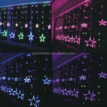4m-336 Balls Led Étoiles Lumières Guirlandes Rideaux Pour La Chambre ...