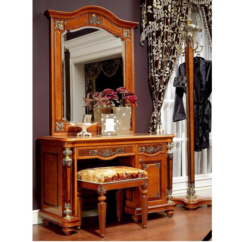 best website 73692 54a6e Yb29 Antique Dressing Makeup Table Wooden Dresser Set Drawer Dressing Table  With Mirror Stool - Buy Kids Dressing Table With Mirror,Vanity Dressing ...