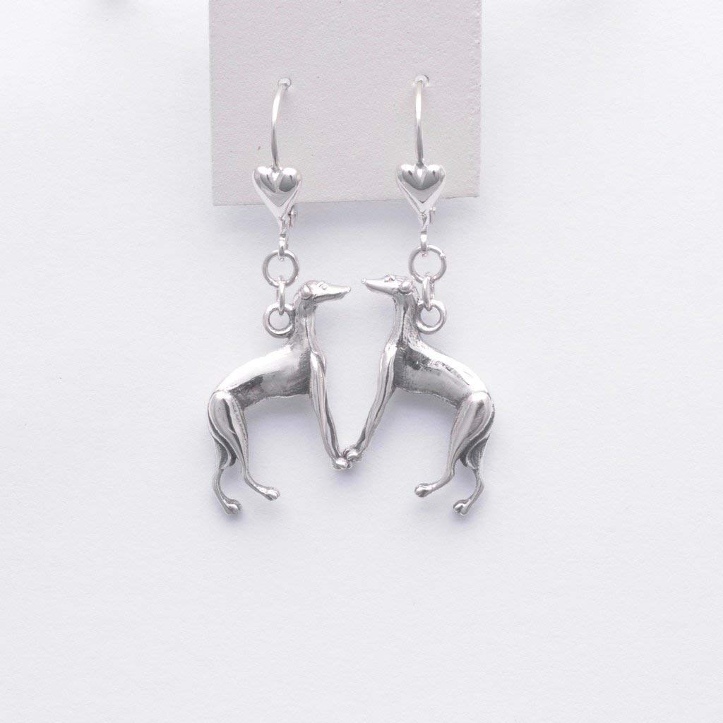 Get Quotations Sterling Silver Italian Greyhound Earrings Jewelry Fr Donna Pizarro S Animal Whimsey Collection