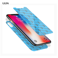 Anti Shock Mobile Phone Used 9H Nano Glass Screen Protector For Iphone X