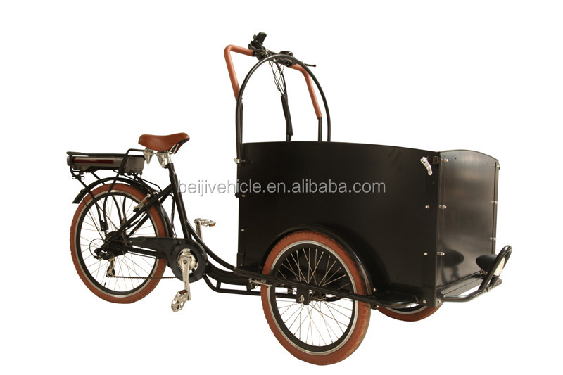 high quality three wheel cheap reverse pedal tricycle cargo bike