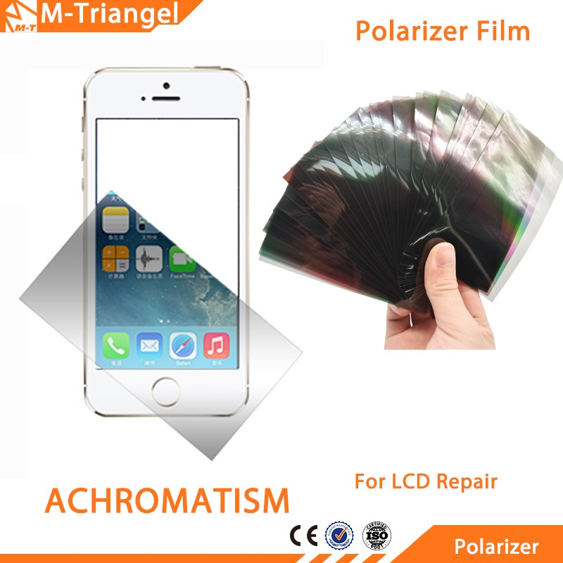 ZHANGJIALI JIALIZ Mobile Accessories Linear Polarized Filters Sheets LCD Polarizer Film 100 PCS LCD Filter Polarizing Films for Galaxy Note III N9000