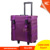 Lightweight soft Nylon makeup case, trolley nylon cosmetic bag with 8pcs drawers