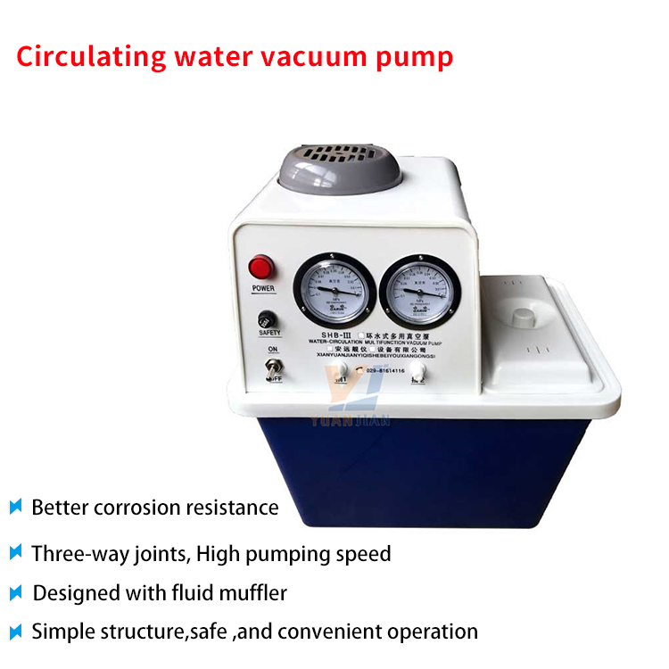 Small Electric Type Acetic Acid Liquid Centrifugal Lined Based Circulating Water Vacuum Pump