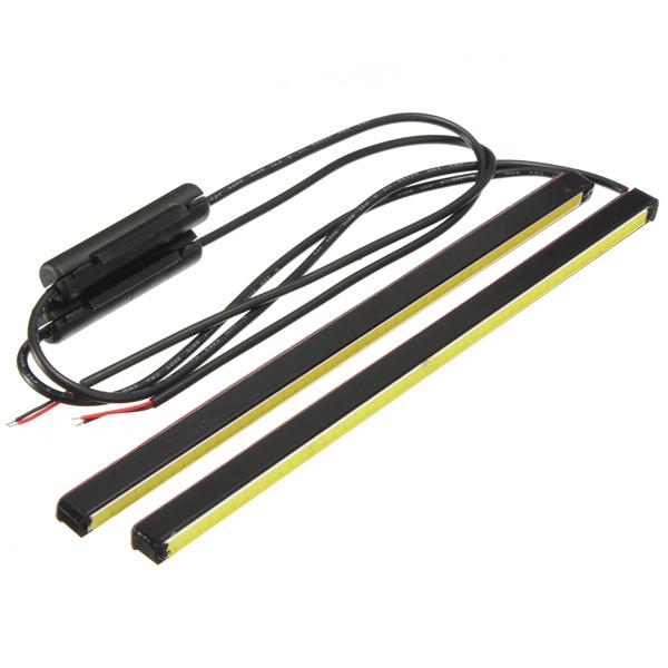 Новая пара 20 см COB из светодиодов DRL дневного света автомобилей газа Foglight фонаря 12 В 5 Вт