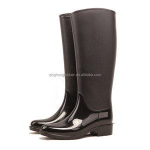 all balck jelly color keen pvc rain boots waterproof shoes from china