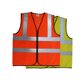 100% polyester knitted fabric High visibility reflective pink safety vest