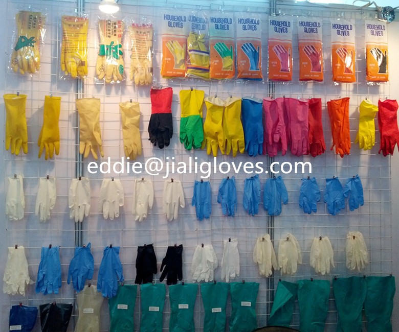 ISO/CE proved/household gloves extra long household rubber cleaning gloves flock lined household gloves household rubber gloves