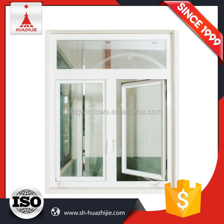 Fast delivery cost price white frame top hung casement window