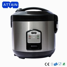 1.8L Stainless steel Electric Rice Cooker with measuring up and spoon