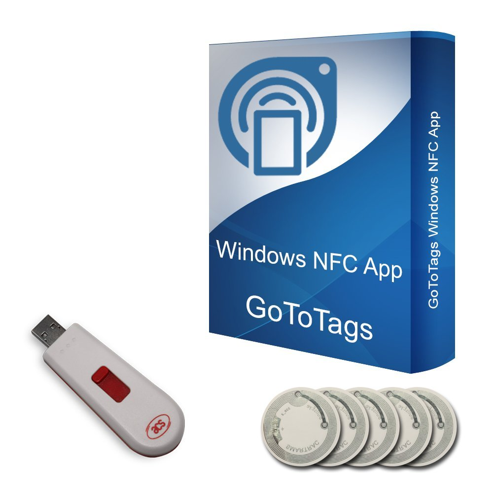 Buy NFC USB Dongle - NFC Reader Writer PN533 USB Stick + 5