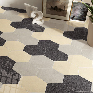 Decoration Ceramic Hexagon Shape Floor Tile Manufacture