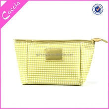 2015 Custom Make Up Modella Toiletry PU Promotional Fashion Elegant Cosmetic Toiletry Bag for Lady