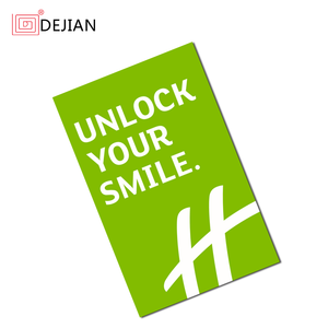 13.56mhz RFID Hotel Key Card with F08 Chip from Dejian