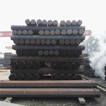 round shapes High Strength Steels black metal pipe for earthing pipes