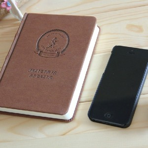 A5 Leather Ring Binder Diary, Appointment Book And Agenda Notebook