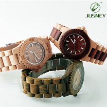 Dropshipping Luxury Wooden Wrist Band Quartz Wood Watch 2018 for Customized Logo Man Watch