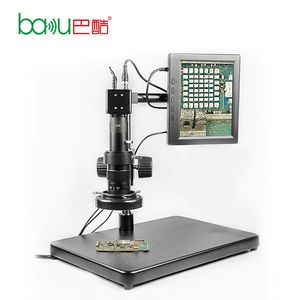 BAKU ba-002 hot selling good price mobile phone jewelry scanning electron operating microscope for mobile phone pcb