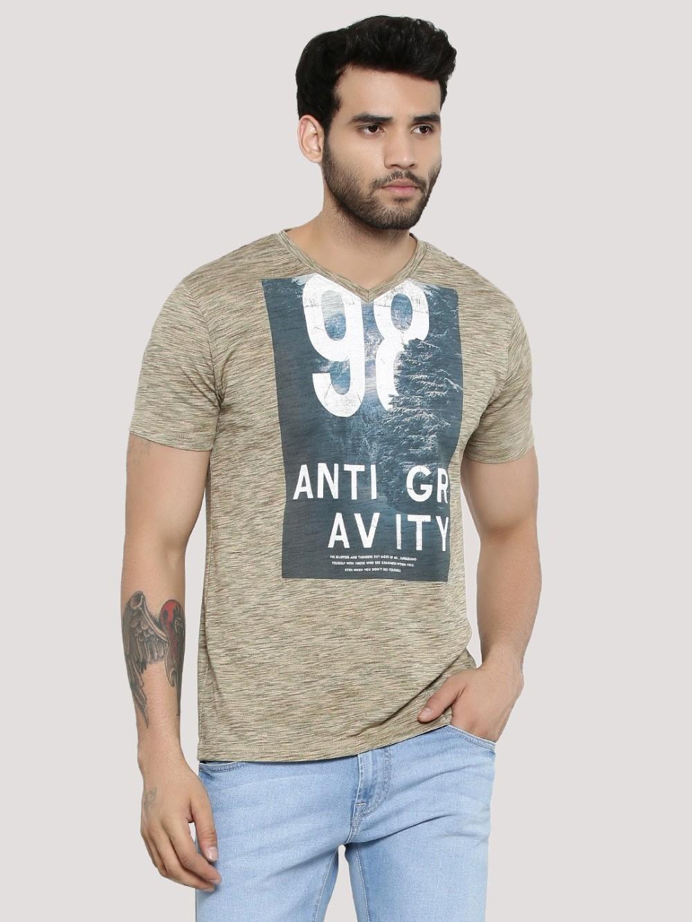 Deep Blank T Shirt Organic Cotton T Shirt Wholesale T