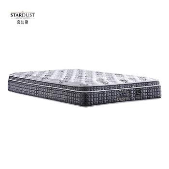 China Factory Super 5 Stars Hotel Mattress King Size Pillow Top