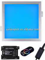 high bright hot selling on factory price ultra slim RGB flank shine led panel