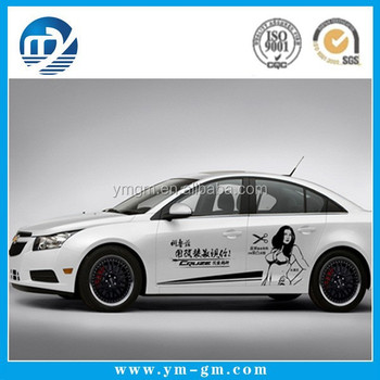 Auto Body Wrap High Definition Printing Bomb Vinyl Car Stickers