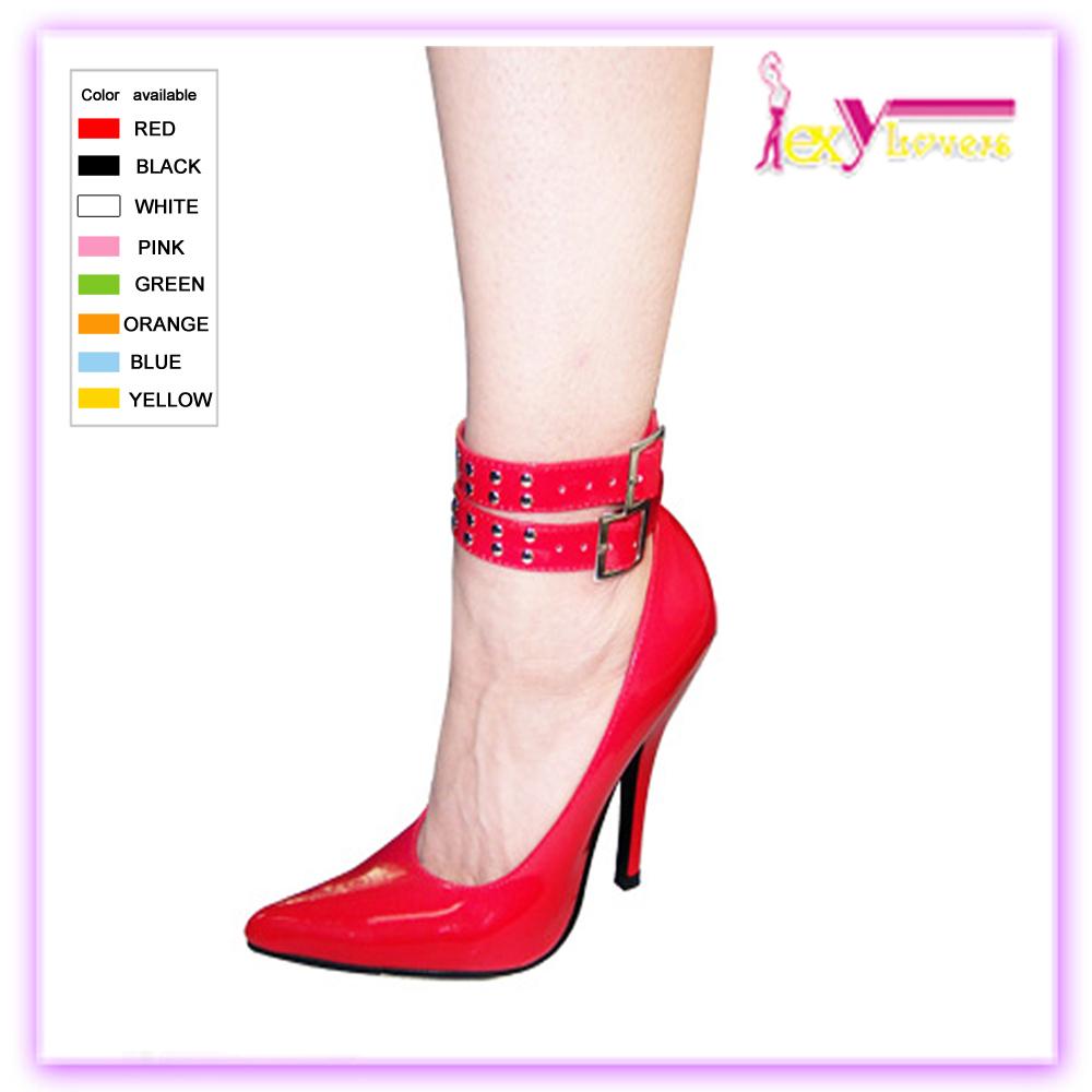 Calidad Mujeres Zapatos De Correa Hebilla Superior Stiletto yf6b7g