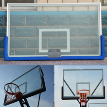 Top Quality full size Basketball Backboard with Laminated Glass