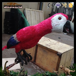 DW-0119 High quality animatronic parrot for sale
