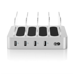 Mobile phones multi chargers 4 port desktop usb charging station for ipad