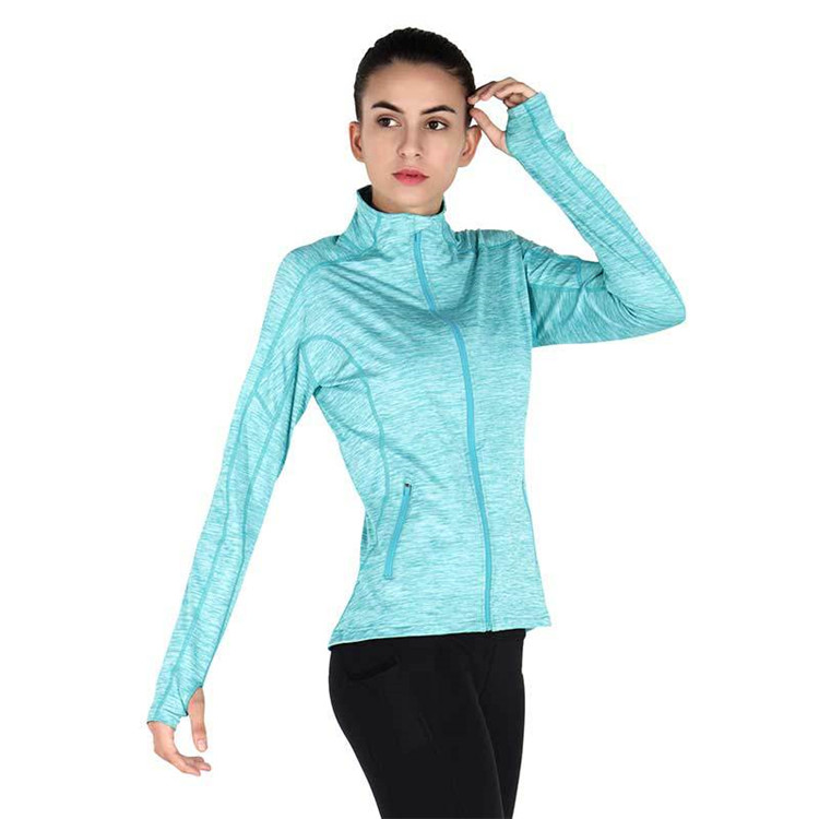 Multi-Size Damen modische Jogging Tops für Gym Wear