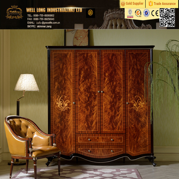 Mahogany Wood Almirah Designs Bedroom Luxury Wardrobes In China ...