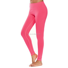 Skinny Tights Long Spandex Stretch Sports Custom Supplex Yoga Leggings for Women gymnastic leggings