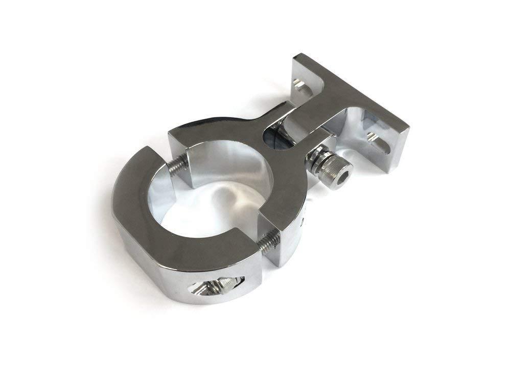 "CNC Universal Motor Mount (Chrome) - 1.5"""