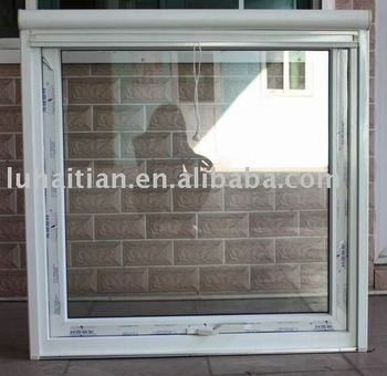 PVC Awning window with rolling screen. Pvc Awning Window With Rolling Screen   Buy Pvc Toilet Window