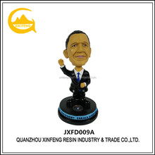Resin Desktop Custom Bobblehead Obama Bobblehead