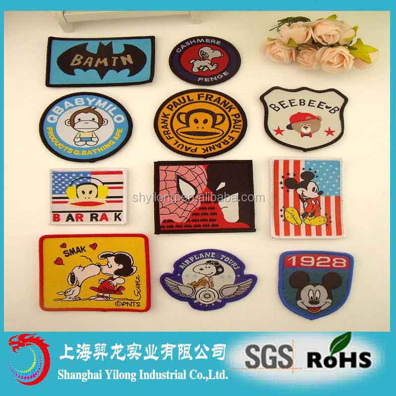 2016 3D Embroidery Patches For Clothing