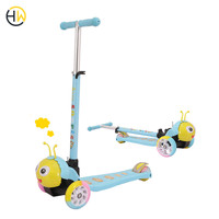2019 Popular kids toys child three wheel baby scooter for sale
