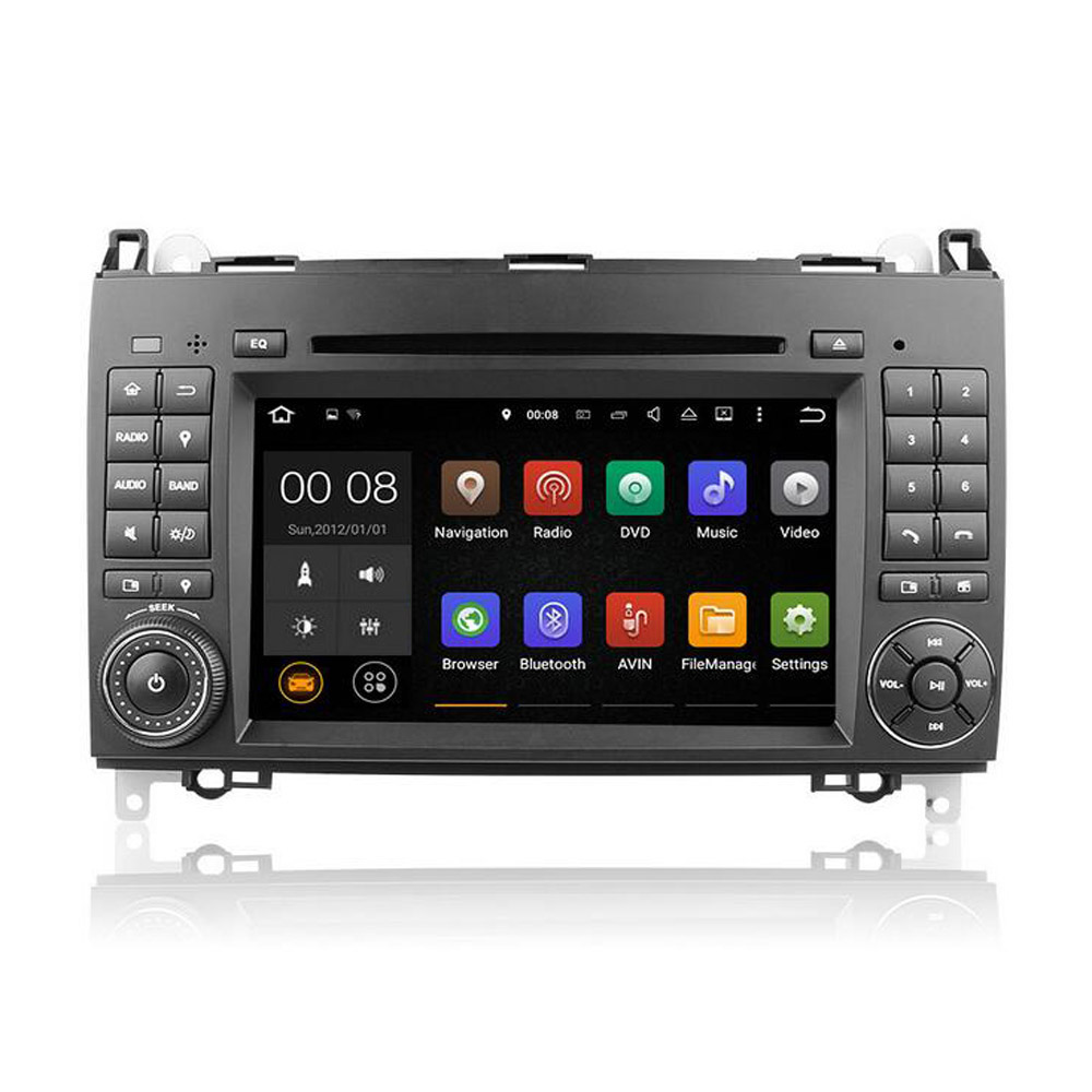 Winmark Android 5.1 Car Radio DVD Player Stereo GPS Sat Navi 7 Inch 2 Din For Mercedes Sprinter Viano Vito 2006 onwards DU7070